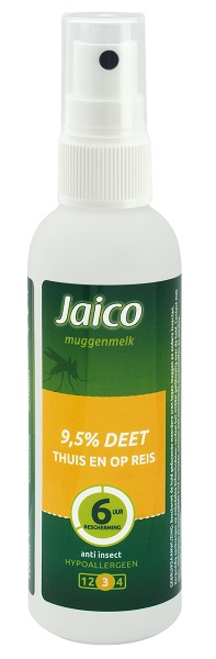 Travelsafe Jaico 9,5% Deet spray flesje