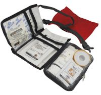Rode open Travelsafe EHBO kit waterdicht