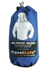 Blauwe opberghoes Travelsafe Insectvrije Jas
