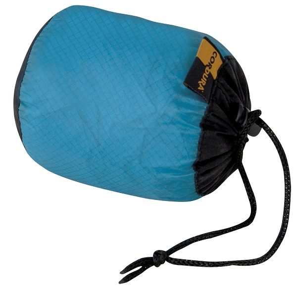 Opberghoes Blauwe Travelsafe Rugzak Regenhoes Small