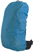 Blauwe Travelsafe Rugzak Regenhoes Medium