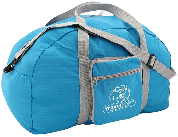 Blauwe Travelsafe Weekend tas