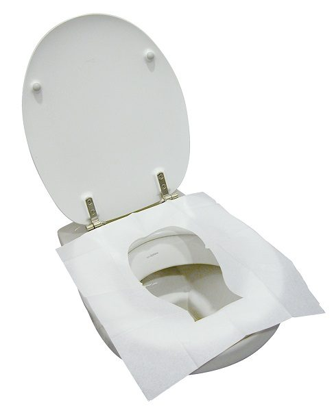 Travelsafe Toiletbril Cover op toilet