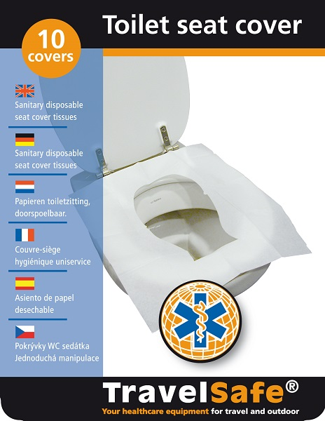 Verpakking Travelsafe Toiletbril Cover