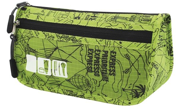 Groene Travelsafe Toilettas (Medium)