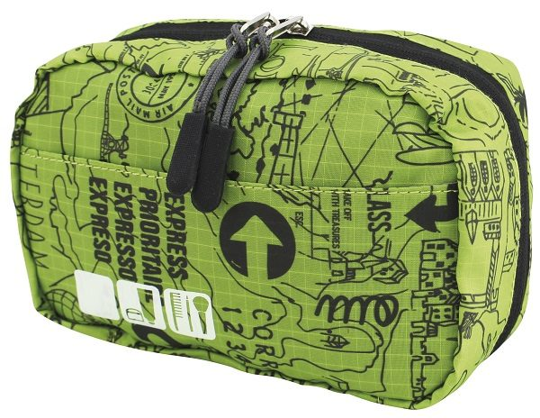 Groene Travelsafe Toilettas (Small)