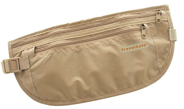 Travelsafe Beige Reisportemonnee Geldgordel Light Weight