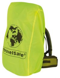 Gele Travelsafe Regen-/transporthoes (Medium)