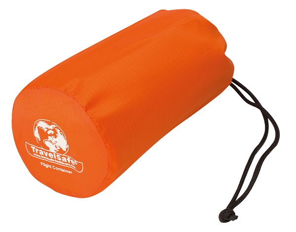 Oranje opberghoes Travelsafe Backpack beschermhoes