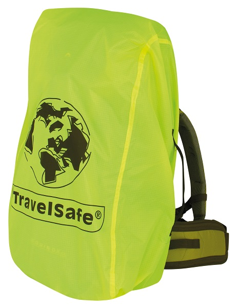 Gele Travelsafe Regen-/transporthoes (Large)